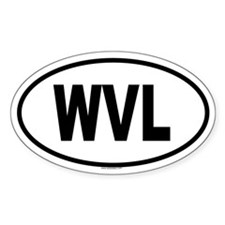WVL Oval Decal