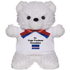 #1 Cape Verdean Grandma Teddy Bear