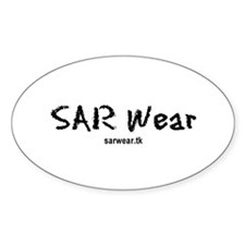 SAR Wear Oval Decal