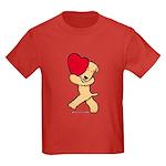 SCWT valentine Kids Dark T-Shirt