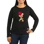 SCWT valentine Women's Long Sleeve Dark T-Shirt
