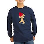 SCWT valentine Long Sleeve Dark T-Shirt