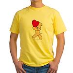 SCWT valentine Yellow T-Shirt