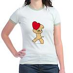 SCWT valentine Jr. Ringer T-Shirt