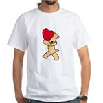 SCWT valentine White T-Shirt