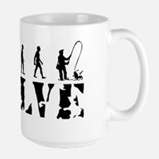 Fisherman Evolution Mug