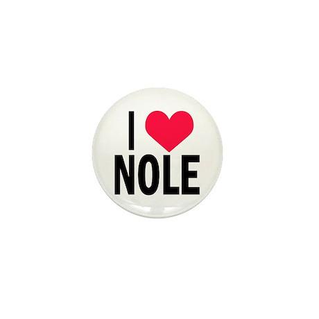 I Love NOLE I Heart Nole Mini Button (100 pack)