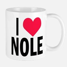 I Love NOLE I Heart Nole Mug