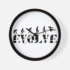 Jujitsu Evolution Wall Clock