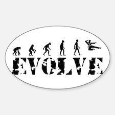Jujitsu Evolution Oval Decal