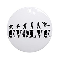 Jujitsu Evolution Ornament (Round)