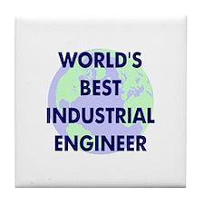 World's Best Industrial Engin Tile Coaster