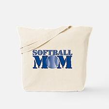 Softball Mom Tote Bag