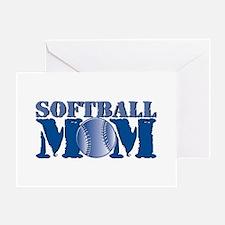 Softball Mom Greeting Card