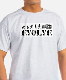 Evolution of Trucker T-Shirt