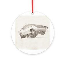 Camero Z28 Ornament (Round)