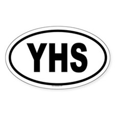 YHS Oval Decal