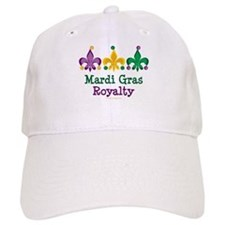 Mardi Gras Fleur de Lis Baseball Cap