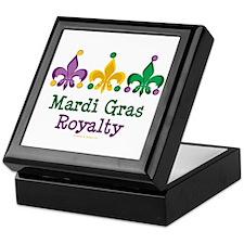 Mardi Gras Fleur de Lis Keepsake Box
