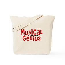 Musical Genuis Genes Tote Bag