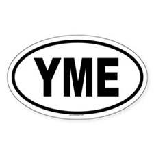 YME Oval Decal