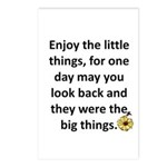 Enjoy the little things Postcards (Package of 8)