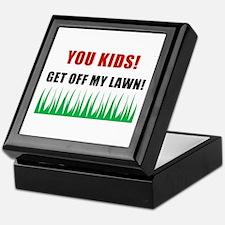 You Kids Get Off My Lawn Keepsake Box