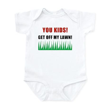You Kids Get Off My Lawn Infant Bodysuit