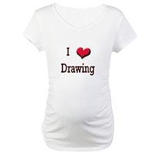 I Love (Heart) Drawing Shirt