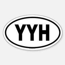 YYH Oval Decal
