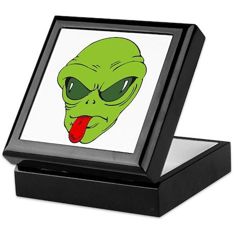 Alien Face Keepsake Box