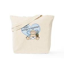 My Heart Belongs to MawMaw BO Tote Bag