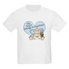 My Heart Belongs to MawMaw BO T-Shirt