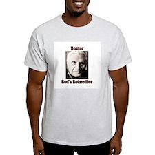 Neuter God's Rotweiller Ash Grey T-Shirt