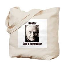 Neuter God's Rotweiller Tote Bag