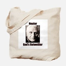Neuter God's Rotweiller Tote Bag