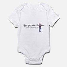 Deep In My Heart Infant Bodysuit