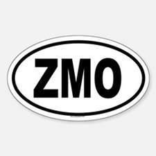 ZMO Oval Decal