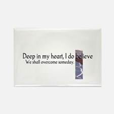Deep In My Heart Rectangle Magnet