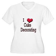 I Love (Heart) Cake Decoratin T-Shirt