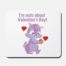Nuts About Valentine's Day Mousepad