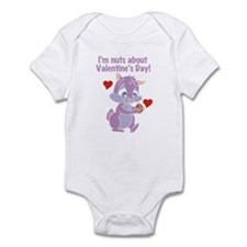 Nuts About Valentine's Day Infant Bodysuit