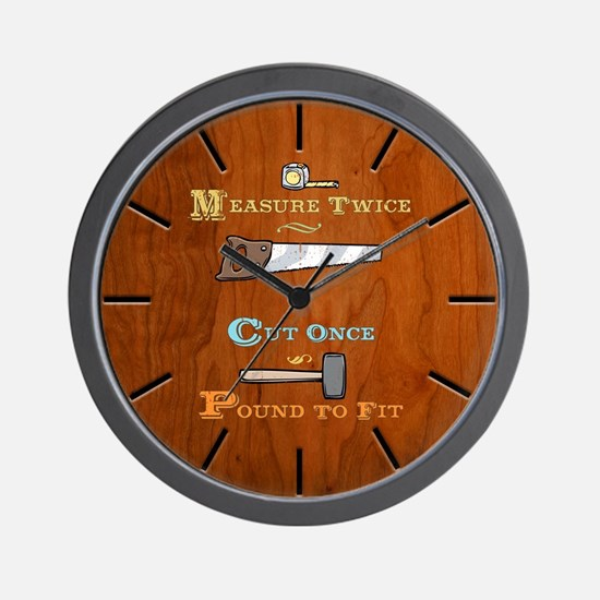 Pound to Fit Wall Clock