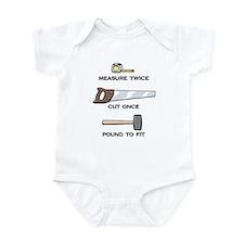 Pound to Fit Infant Bodysuit