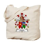 Caspar Family Crest Tote Bag