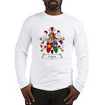 Caspar Family Crest Long Sleeve T-Shirt