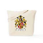 Carlsburg Family Crest Tote Bag