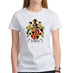 Carlsburg Family Crest Women's T-Shirt
