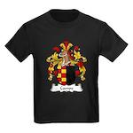 Campe Family Crest Kids Dark T-Shirt