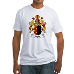 Campe Family Crest Fitted T-Shirt